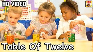 Learn Table of 12 | 12 x 1 = 12 | Learn Multiplication | Table Of Twelve | Fun & Learn Video |