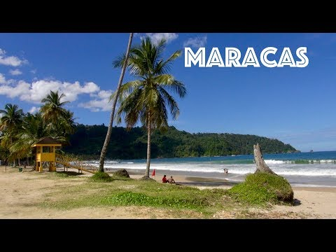 Trinidad & Tobago - Maracas Bay Beach
