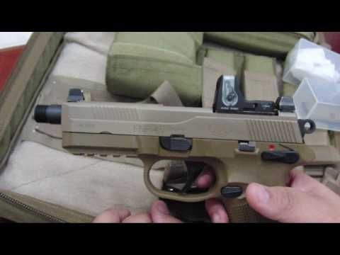 FNP 45 Tactical Review