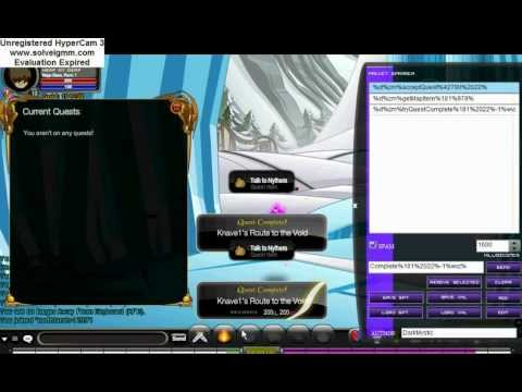 AQW Lvel and Gold Hack September 2012