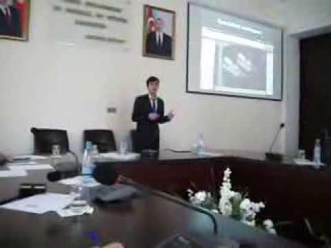 Baku Higher Oil School. Students Conference. Sultan Aliyev.