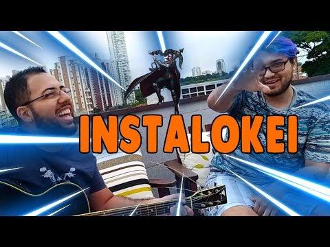 (Acústico da Zuera) Paródia League of Legends - INSTALOKEI versão pocket Feat  Krazy Potato