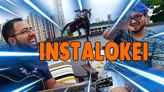 (Acústico da Zuera) Paródia League of Legends - INSTALOKEI versão pocket Feat  Krazy Potato