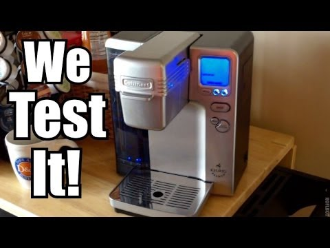 Cuisinart Single Cup Coffee Maker Vs Keurig : Cuisinart Vs Keurig - Compare Single Serve Coffee Makers How To Make & Do Everything!