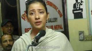 Special report about Manisha Koirala, March 26, 2010.