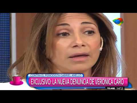 "Verónica Caro, amenazada: ""No hablés de Anello o vas a terminar mal"""