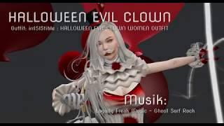 Halloween Evil Clown - Szene