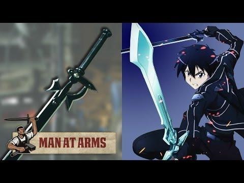 Kirito's Elucidator (Sword Art Online) - MAN AT ARMS