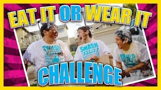 Eat It Or Wear It Challenge - Kids Style