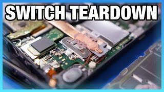 Nintendo Switch Teardown & Disassembly