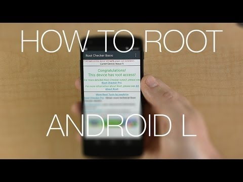 How To Root Android L on Nexus 5 in Under 5 Minutes