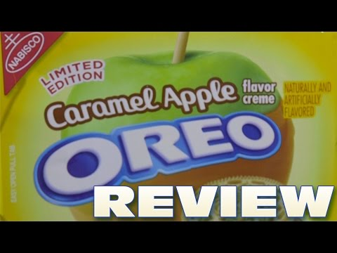 Caramel Apple Oreo Cookie Review - Oreo Oration