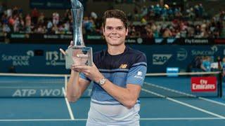 [HD] Roger Federer vs. Milos Raonic | Final Brisbane 2016 [Highlights]