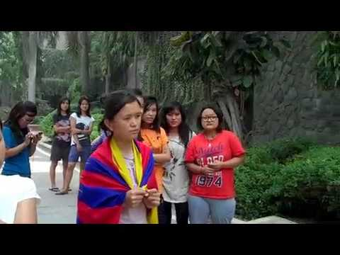 Delhi University Tibetan students are Under house arrest.FLV