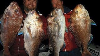 WINTER SNAPPER  WARREN CARTER Part 2 - YouFishTV