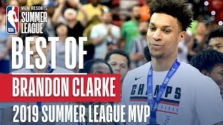 Best of Summer League MVP Brandon Clarke | MGM Resorts NBA Summer League