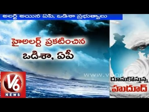 Hudhud cyclone devastation coming to hit India's central east coast soon