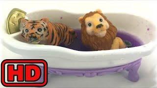 Kid -Kids -ZOO Animals Bath Time/Learn Colors And Animals/Finger Family Nursery Rhyme/Farm Animals