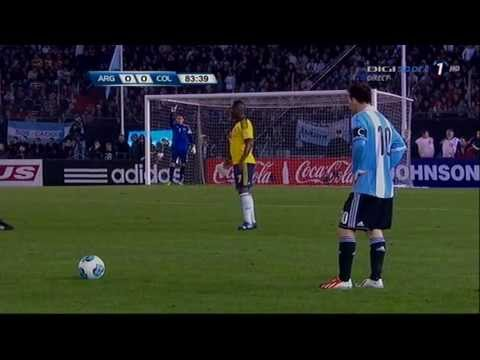 Lionel Messi Vs Colombia 7.6.2013 (world Cup 2014 Qualifiers) video