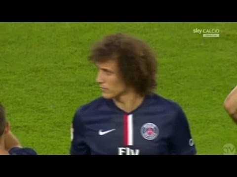 David Luiz [Debut Game] vs Napoli / Friendly Match  11 08 2014 HD