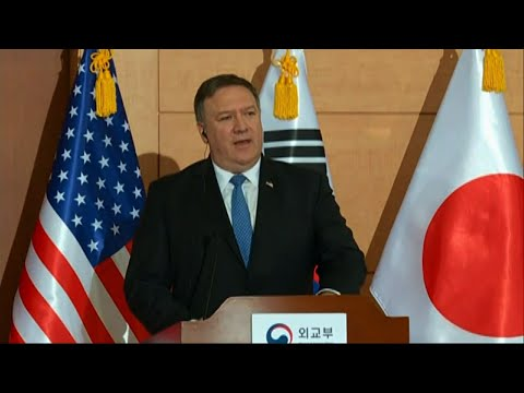 Pompeo: Trump NKorea Tweet With 'Eyes Wide Open'