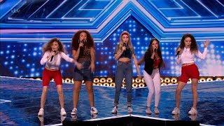 The X Factor UK 2018 Sweet Sense Six Chair Challenge Full Clip S15E11