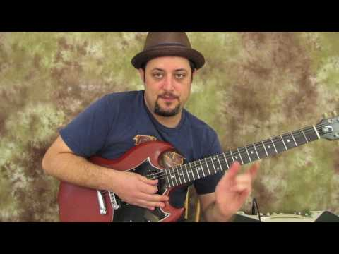 Guitar Lessons - Rock Solo Licks And Concepts - Gibson SG