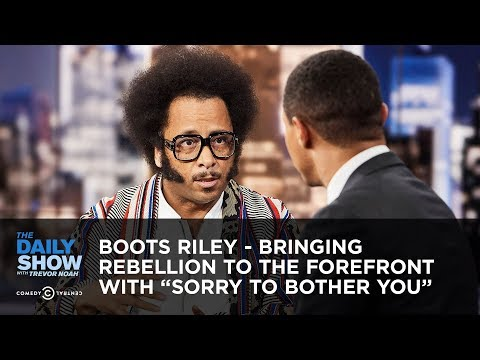 "Boots Riley - Bringing Rebellion To The Forefront With ""Sorry To Bother You"" 