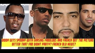 Diddy ERASES French Montana and Fabolous Out of Picture, Fab Didnt Party and French is His Past