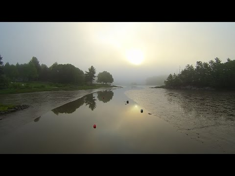 Sunrise over Oyster River, Durham, New Hampshire - Home of the University of New Hampshire