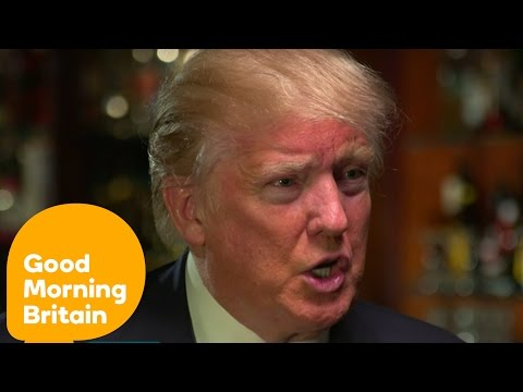 Donald Trump Criticises Tony Blair's Iraq War Decisions | Good Morning Britain