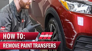 How To Remove Scuff Marks and Paint Transfer From a Car