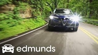 2018 Alfa Romeo Stelvio Review   Edmunds Test Drive