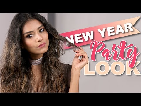 New Years Eve Makeup Look | New Year Makeup | Makeup Tutorial | Foxy Makeup Tutorials | Party Look