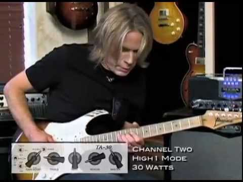 Andy Timmons and the Mesa TransAtlantic TA-30 ~ Channels, Modes, Tones & More