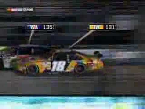 Kyle Busch Wrecks Dale Earnhardt Jr!!