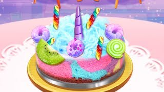 Unicorn Chef Cooking Games - Girl Food Maker Game For Kids