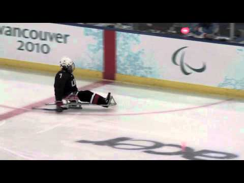 Paralympic Sledge Hockey USA vs Japan