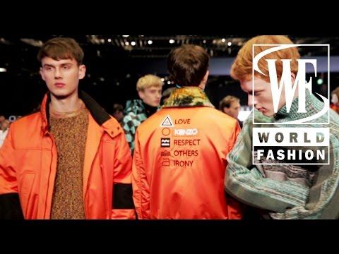 Kenzo Fall-Winter 15-16 Paris Fashion Week
