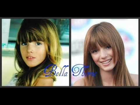 Disney and Nickelodeon female stars then and now.