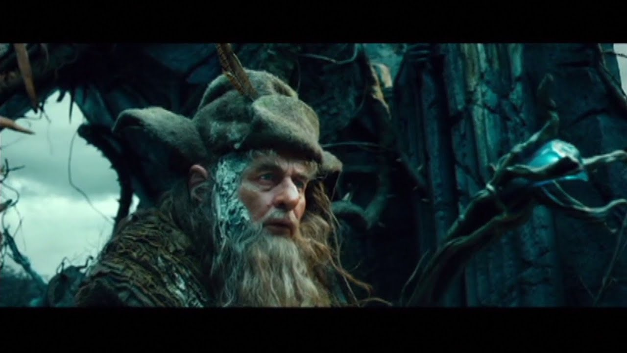the hobbit an unexpected journey scene the necromancer