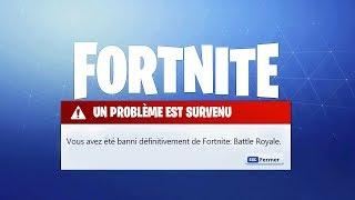 5 VRAI FAÇONS de se faire BANNIR de FORTNITE Battle Royale !!