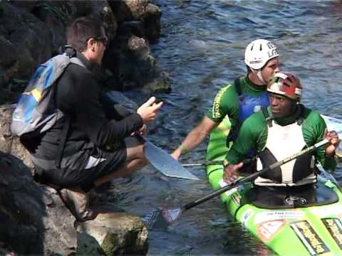 Beijing Olympics 2008 - South African canoe-kayak team