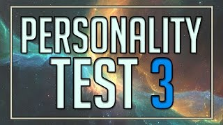 Personality Test 3