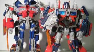 Transformers ROTF Revenge of The Fallen Leader Class Optimus Prime Review