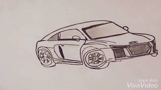 How to draw xuv 300 (cars drawing series 1)