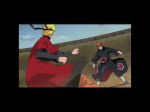 Porta-el Fin Del Mundo (naruto Vs Pain) Part 1 video