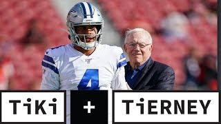 Dak Prescott Is NOT Worth $40 Million A Year! | Tiki + Tierney