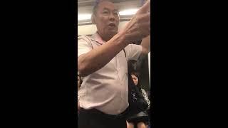 Geger Video Kakek Gay Paksa Pemuda berhubungan Sex di MRT