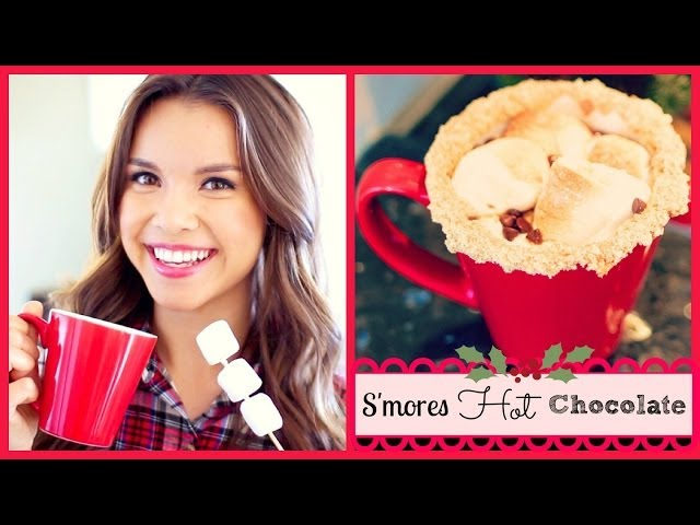 S'mores Hot Chocolate Recipe ❄ #DIYDecember Day 2